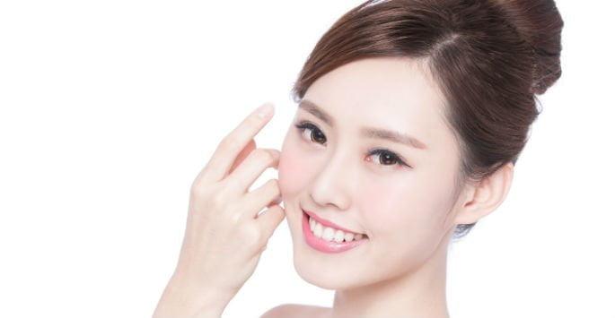 woman after skin rejuvenation