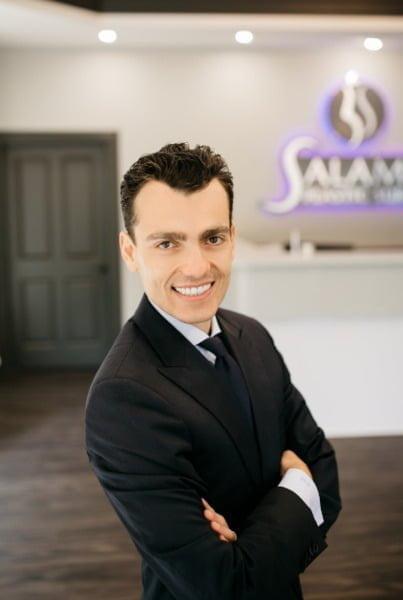 Dr. Salameh Smiling