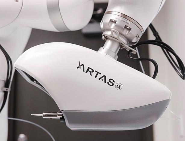 Detail of ARTAS Hair Transplant Robot