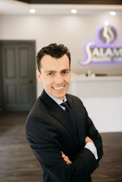 Headshot of Dr. Bernard Salameh