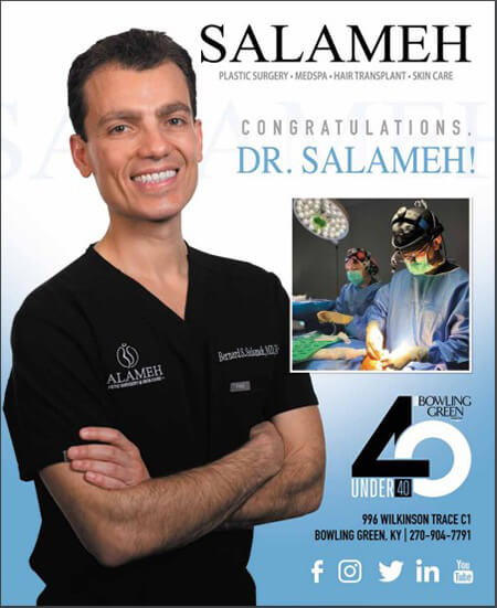 Dr Salameh chosen as one of bowling greens top 40
