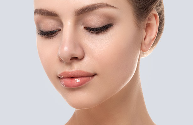 After Result Rhinoplasty Surgery