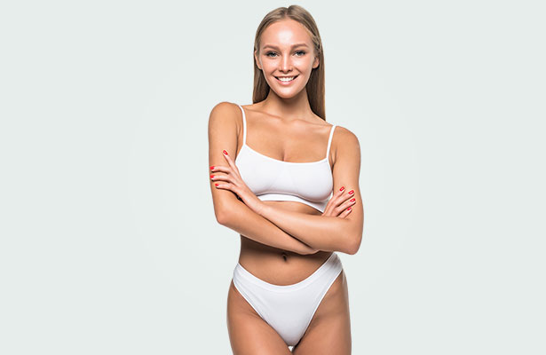 woman posing with arms crossed