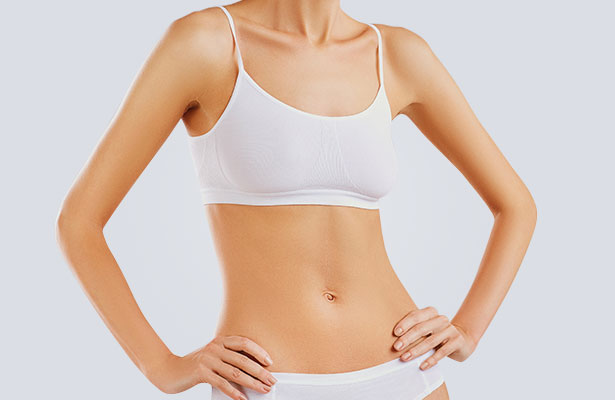womans firm tummy after surgery