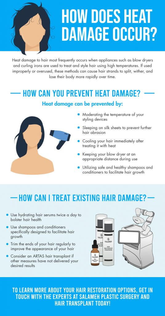 Heat Damage Infographic Info