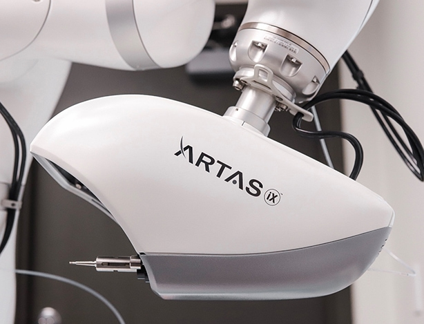 The ARTAS System which gives the best hair transplant in the USA