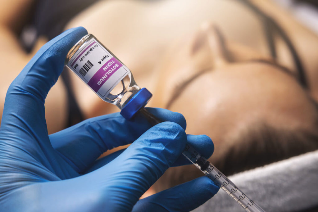 A Botox syringe, used by a doctor who doesn't believe Botox myths